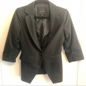 The Limited Black Collection 3/4 Sleeve Blazer
